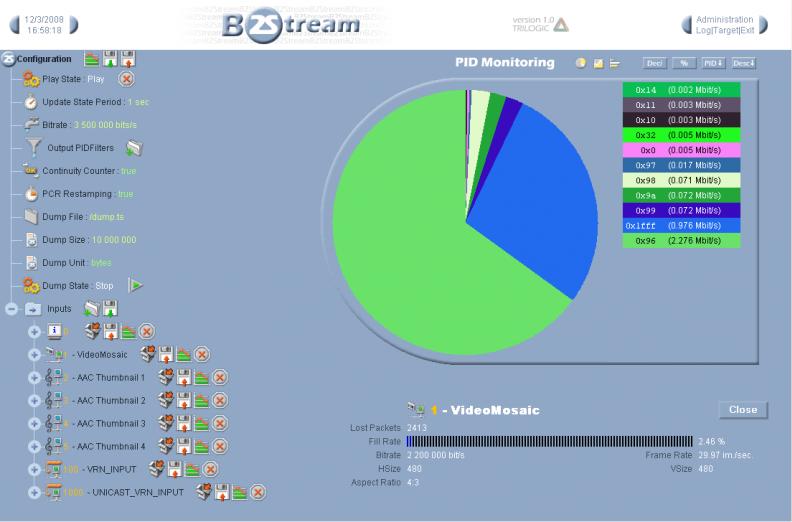 B2Stream Capture d'écran
